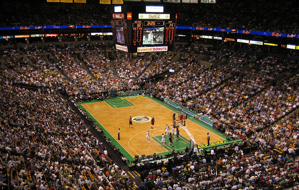 Boston Garden de la NBA